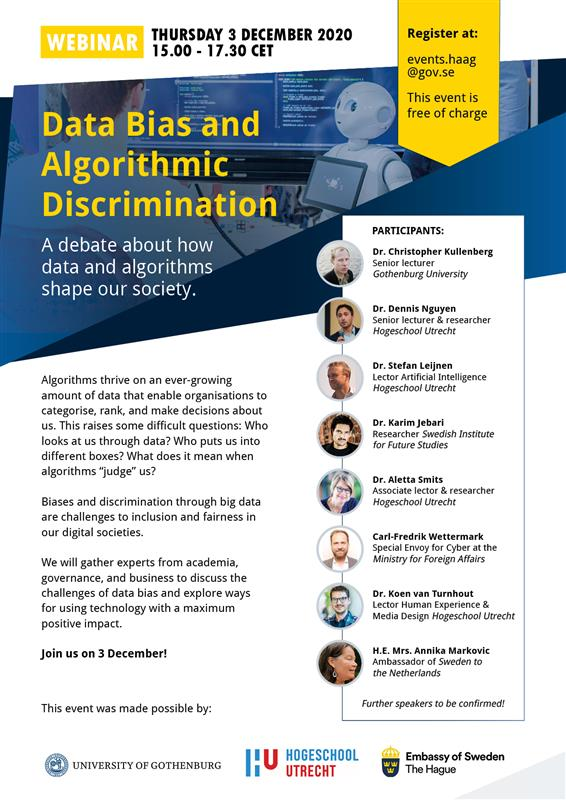 WEBINAR: Data Bias and Algorithmic Discrimination
